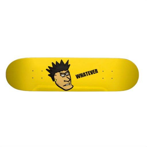 """Jack """"Whatever"""" Skateboard"""