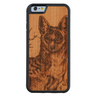 Jackal Cherry Wood IPhone 6 Case Carved® Cherry iPhone 6 Bumper