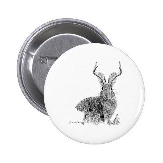 Jackalope Button
