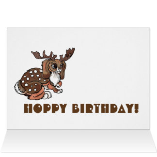 Jackalope Hoppy Birthday! Card