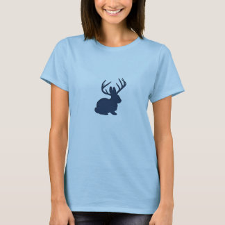 Jackalope Navy Blue T-Shirt