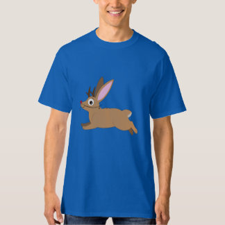 Jackalope: Rabbit with Antlers and Rudolph Nose Tshirt