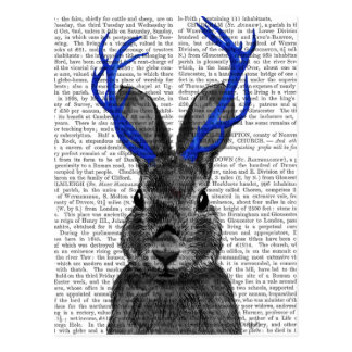 Jackalope with Blue Antlers Postcard