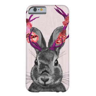 Jackalope with Pink Antlers 2 Barely There iPhone 6 Case