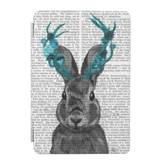 Jackalope with Turquoise Antlers iPad Mini Cover