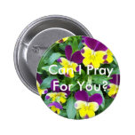 jackanapes viola, Can I Pray For You? 6 Cm Round Badge