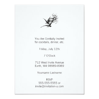 Jackdaws 11 Cm X 14 Cm Invitation Card