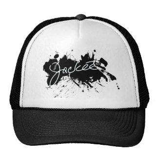 Jackée Ink Splatter Trucker Hat