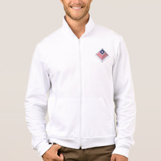 Jacket Jogging shoe White Man the USA