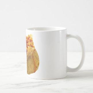 """Jacket potato and beans"" design mugs"