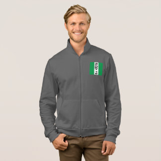 JACKET WITH HOOD ASPHALTS DESIGN NIGERIA SPORT