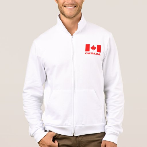 Jackets with Canada flag | Canadian maple leaf