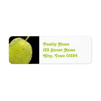 Jackfruit Return Address Label