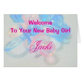 Jacki Greeting Card