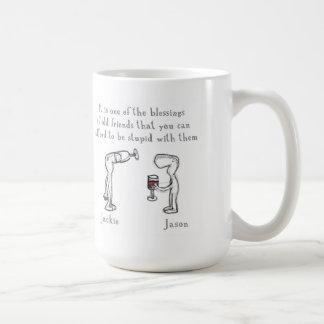 Jackie and Jason Coffee Mug
