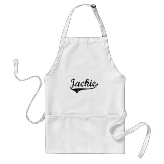 Jackie Classic Style Name Apron
