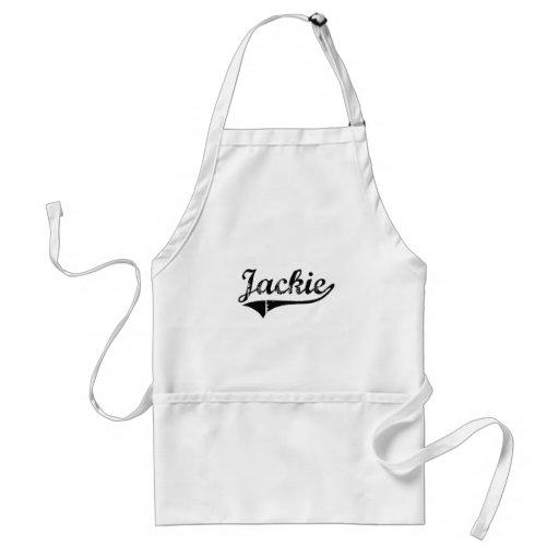 Jackie Classic Style Name Apron
