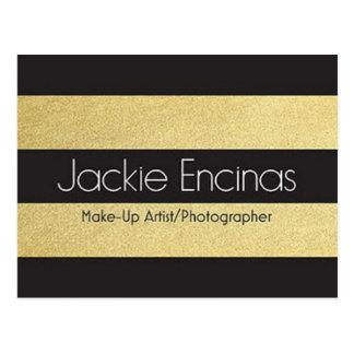 Jackie Encinas Makeup Artist & Photographer Postcard