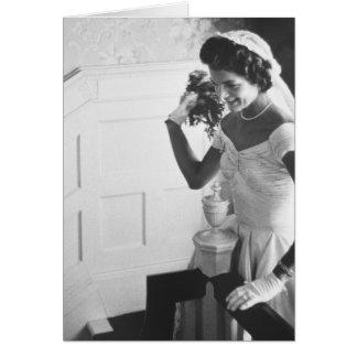 Jackie Kennedy, 1953 Card