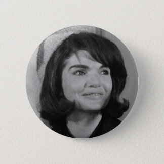 Jackie Kennedy 6 Cm Round Badge