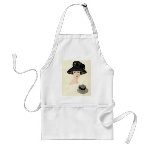 Jackie O inspired Holiday apron WHITE HOUSE READY