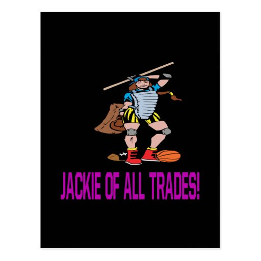 Jackie Of All Trades Post Cards
