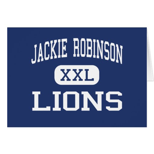 Jackie Robinson Lions Middle Milwaukee Cards