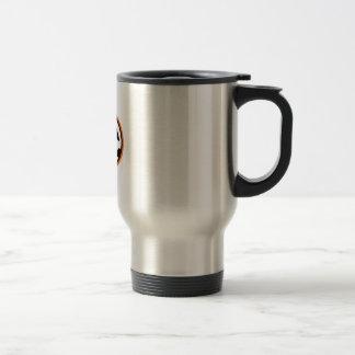 JACKOLANTERN APPLIQUE COFFEE MUG