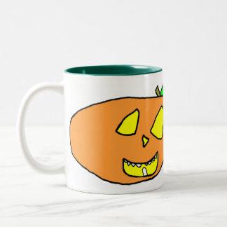 Jackolantern Two-Tone Mug