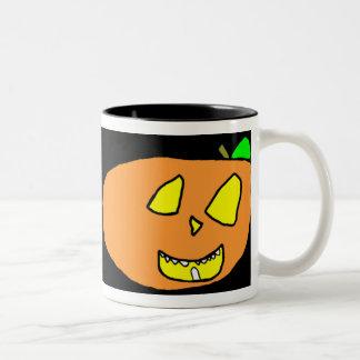 Jackolanterns Two-Tone Mug