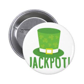 Jackpot 6 Cm Round Badge