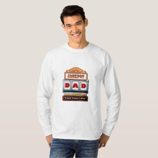 JACKPOT DAD Father's Day Long Sleeve T-Shirt