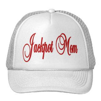 Jackpot Mom Las Vegas Cap Trucker Hat