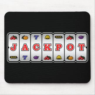 Jackpot Slot Machine Mousepad dark