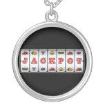 Jackpot Slot Machine Necklace (dark)