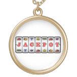 Jackpot Slot Machine Necklace (light)