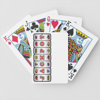 Jackpot Slot Machine Playing Cards (light)