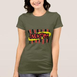 Jackpot Winner - Retro Gambling Style T-Shirt