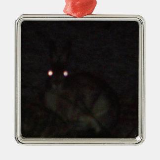 Jackrabbit At Night Ornament