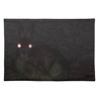 Jackrabbit At Night Placemat