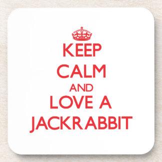 Jackrabbit Beverage Coaster