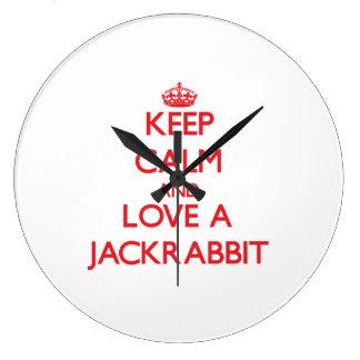 Jackrabbit Wallclock