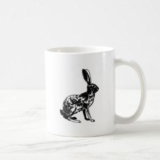Jackrabbit Illustration Mugs