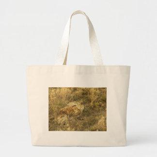 Jackrabbit Looking Back Tote Bags