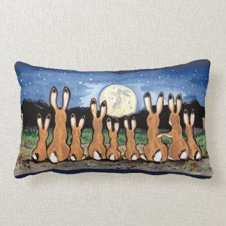 Jackrabbit Moon Southwestern Accent Throw Pillow
