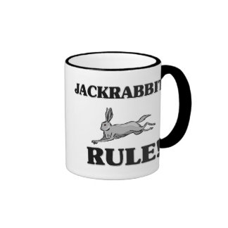 JACKRABBITS Rule! Coffee Mugs