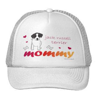 JackRussellBlkMommy Cap