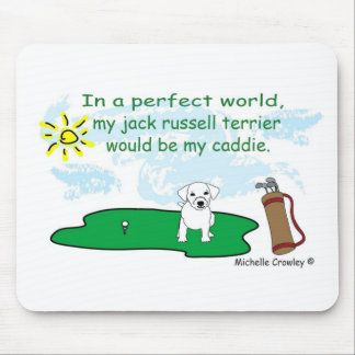 JackRussellWirehair Mouse Pad
