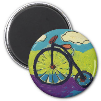 Jack's Bicycle Magnet