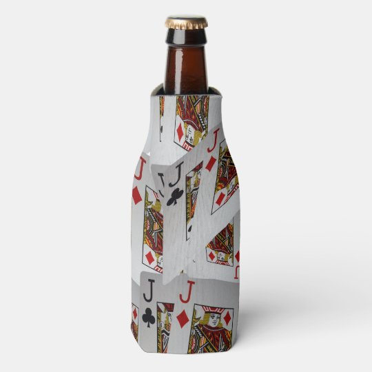 Jacks In A Layered Pattern, Stubby Bottle Holder